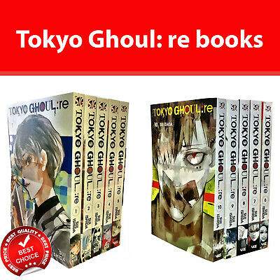 Tokyo Ghoul Series re Vol.1-12 Books Collection Set by Sui Ishida pack Series