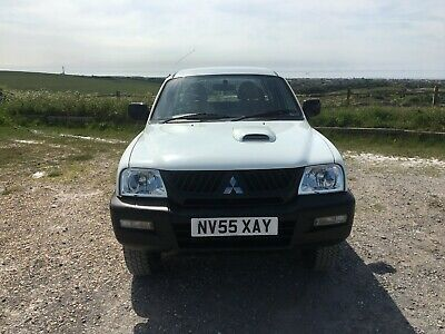 Mitsubishi l200 2006 4 Work 2.5 Double Cab ONLY 74000 miles