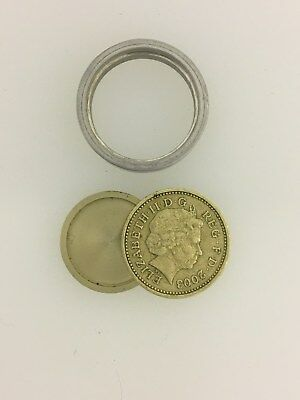 Britain/British £1 Secret Agent Hollow SPY COIN with hidden compartment Cold War