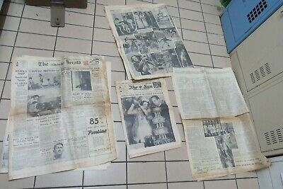 vintage old The Herald The Sun The Age NEWSPAPER 1937 1938