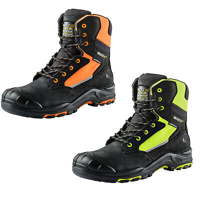 bf65b26d813 BUCKLER BUCKZVIZ SAFETY Work Boots Hi-Vis Fluorescent Orange (Sizes ...