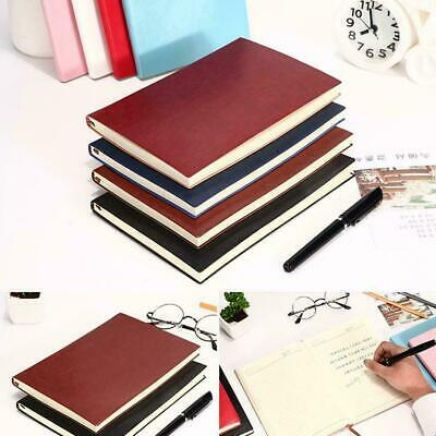 6 Color Soft Cover PU Leather Notebook Writing Journal Diary Book 100 Page- N2S7