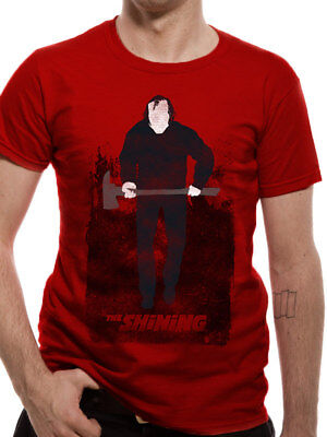 Here Is Johnny T-Shirt The Shining Stanley Kubrick Stephen King Horror Hote 3178