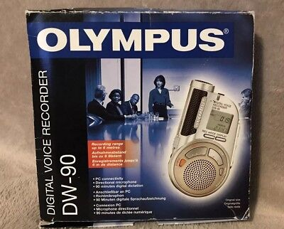 Olympus Dw-90 Digital Voice Recorder - Dictaphone Excellent