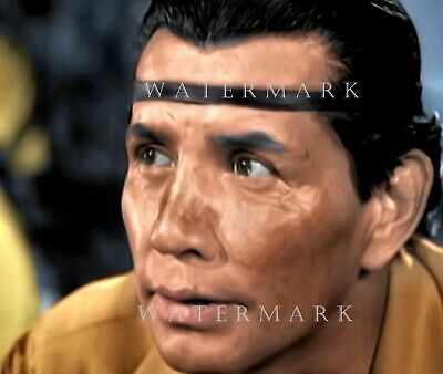 JAY SILVERHEELS - TONTO - Digital Oil Painting 8x10 THE LONE RANGER
