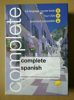 Teach Yourself 'Complete Spanish' Book + 4 CDs, Like New