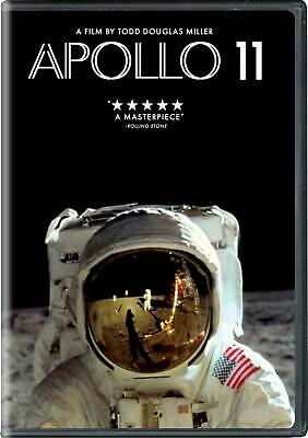 Apollo 11 (New Sealed 2019 DVD ) Action Mystery Todd Douglas Miller Ships Free
