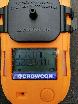 Crowcon T4 multi gas detector %LEL, Oxy, CO, H2S c/w Charger