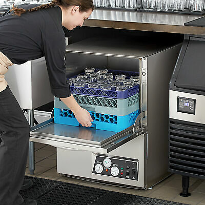High Temp Undercounter Stainless Steel Commercial Restaurant Dishwasher 208/230V