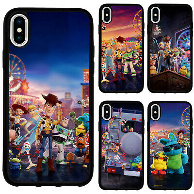 Toy Story 4 Cartoon Movie Silicone Case Cover for iPhone XR XS Max 5 6 7 8 Plus