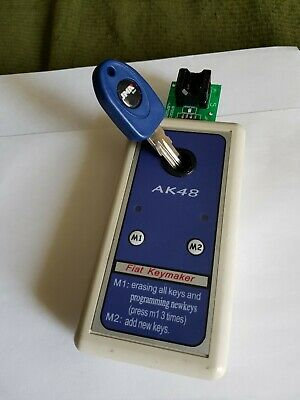 Fiat, Citroen lost key DIY Eeprom transponder programming Machine FOR ID48 ONLY