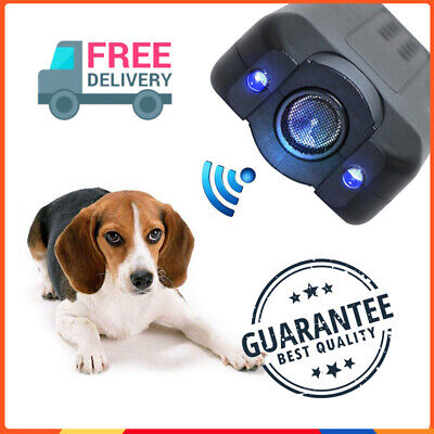Anti Dog Barking Ultrasonic Pet Trainer LED Light Gentle-Chaser Petgentle Stoppe