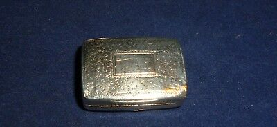 George III Silver Vinaigrette, Birmingham 1817 by Joseph Bettridge