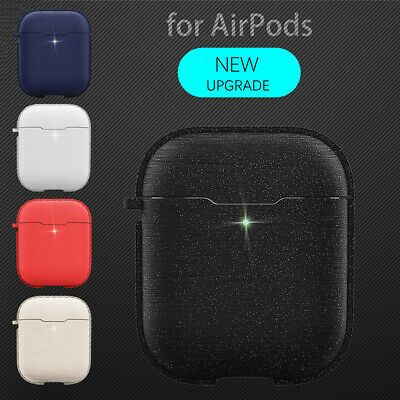 Silicone Cover Protect Skin Key Chain For Apple AirPods 2 Wireless Charging Case
