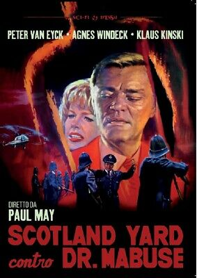 Scotland Yard Contro Dr. Mabuse DVD SINISTER FILM