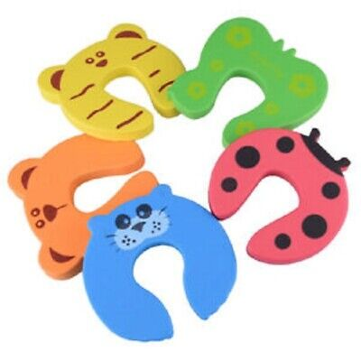 4Pcs Baby Kids Safety Stop Door Finger Protector Jammer Stopper **SHIP NEXT DAY*