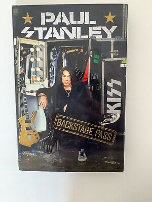 [By Paul Stanley] Backstage Pass [2019] [Hardcover] New Launch Best selling bo