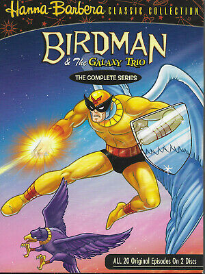 Birdman and the Galaxy Trio the Complete Series