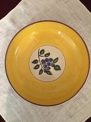 "Vintage Stangl Pottery Blueberry Serving Bowl 8"". Very good condition."