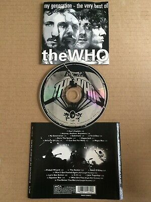 Who – My Generation - The Very Best Of The Who CD (1996) MCA Records Canada