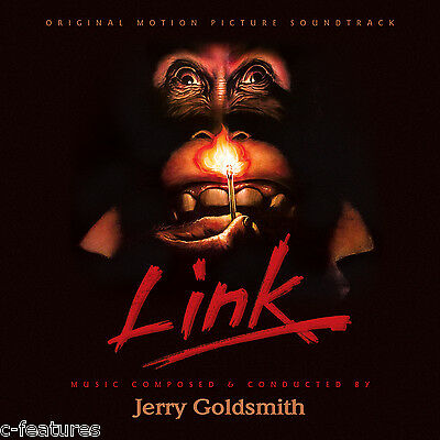 LINK (1986) Jerry Goldsmith CD Soundtrack Score LTD EDITION 2000 La-La Land NEW!