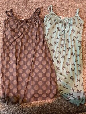 2 Maternity Nursing Nighties Size 12-14 Mamas And Papas