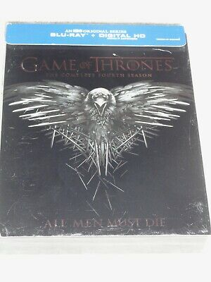 Games Of Thrones The Complete Fourth Season Blue Ray (Like New) No Digital Code
