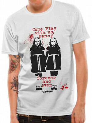 Twins T-Shirt The Shining Stanley Kubrick Stephen King Here Is Johnny Horro 3260