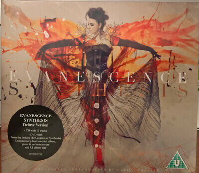 Evanescence Synthesis Cd + Dvd Deluxe Edition Digipack 5.1 Album Mix Nuovo