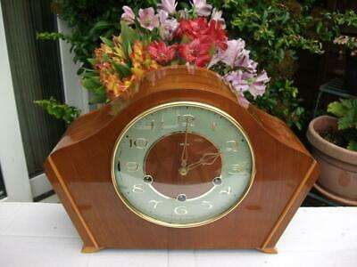 Superb Smiths 8 Day Westminster Chiming Mantel Clock. 1961. Fully Overhauled.