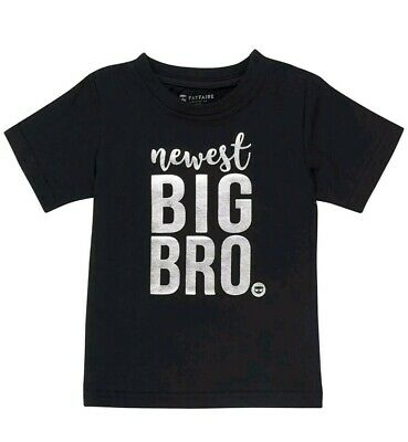 NWT Fayfaire 3T NEWEST BIG BROTHER Shirt Boutique Quality Pregnancy Announcement