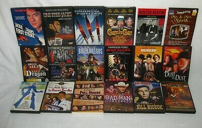 Lot of Assorted DVD's 18 Movies: Westerns, Classics , Drama, Comedy + More