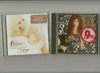 Cher : Greatest Hits (1965-1992) (Best of) + Closer To The Truth / 2 CD Albums