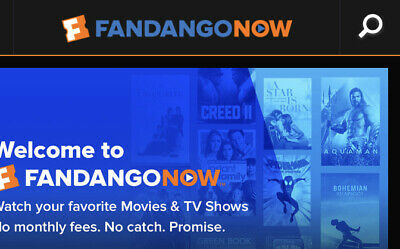 $6 FandangoNow Movie Rental Code Gift Promo (Fandango Now streaming) Exp 8/31/19