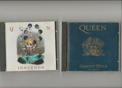 Queen : Greatest Hits II CD (1991) + Innuendo / TWO CD Albums