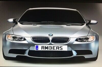 Ambers RM13 ERS Cherished personalised Number Plate Amb Amber Smith King Am Boss