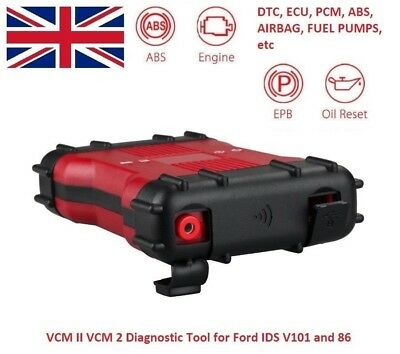 High Quality VCM II VCM 2 Diagnostic Tool for Ford IDS V101 (New) & V86