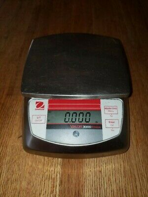 OHAUS VALOR® 3000 Xtreme Digital Scale - 6,000 grams x 1 gram Legal