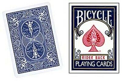 One Way Force Deck - Blue Bicycle - 4 Of Clubs - 52 Cards All The Same - New