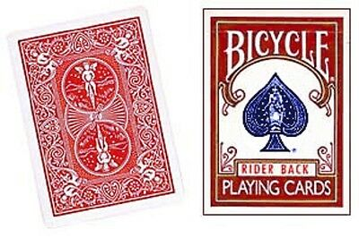 One Way Force Deck - Red Bicycle - 5 Of Clubs - 52 Cards All The Same - New