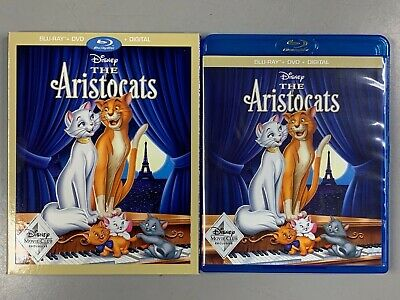 Disney's The Aristocats (Blu-ray + DVD, NO digital) (Walt Disney animated movie)