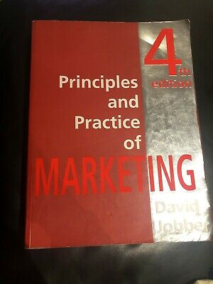 Principles and Practice of Marketing by David Jobber (Paperback)