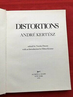 Distortions by Andre Kertesz 1st 1976 Female Nudes