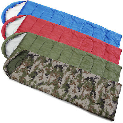 400GSM Mummy Autumn Winter Sleeping Bag for Camping Hiking Outdoors Activities