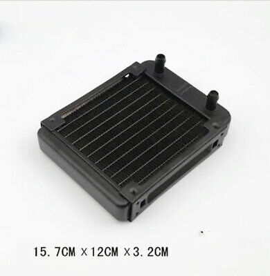 120mm 10Tubes Aluminum Computer Water Cooling Cooler Radiator Heatsink for CPU .