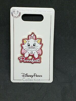 The Aristocats Marie - Purrrfect! - Disney Parks Pin New on Card