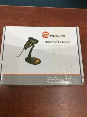 TaoTronics Laser Barcode Scanner USB With Stand