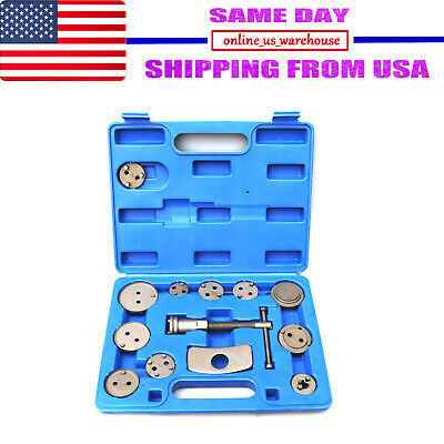 13pcs UniversaL Disc Brake Caliper Tool Set and Wind Back Kit for Brake Pad Blue