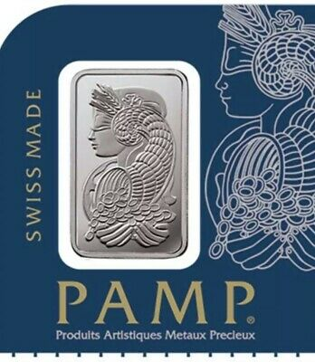 1 gram Platinum Bar - Multigram+25 PAMP Suisse (In Assay)