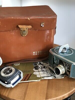 Bauer Eugen 88 Double-eight 1950's Vintage  Camera & Gossen Sixtino Meter